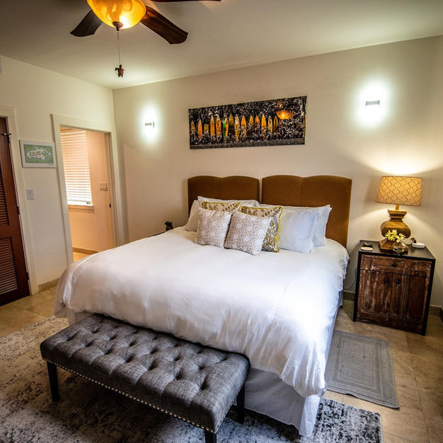Third bedroom as king