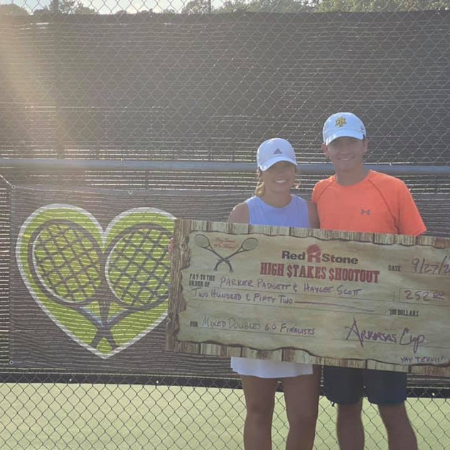 6.0 Mixed Doubles Finalist