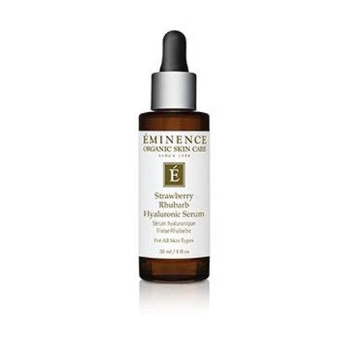 Strawberry Rhubarb Hyaluronic Serum - Eminence Organic Skincare
