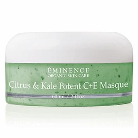 Citrus & Kale Potent C+E Masque* - Eminence Organic Skincare