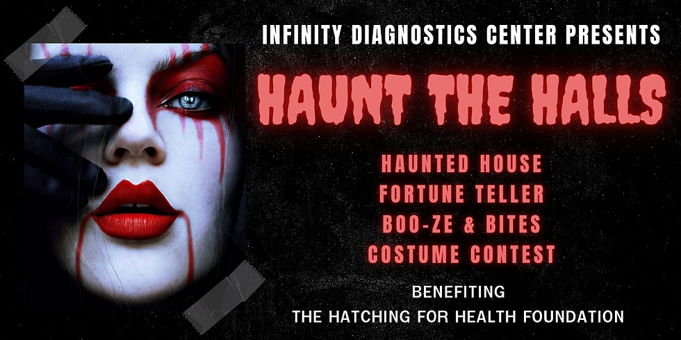 Haunt The Halls of Infinity Diagnostics Center