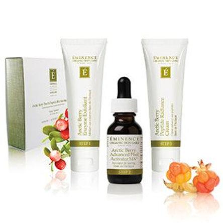 Arctic Berry Peel & Peptide Illuminating System - Eminence Organic Skincare