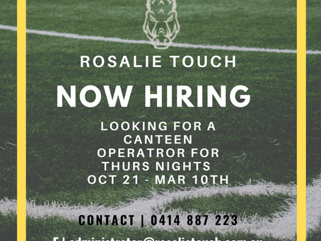 Rosalie Touch - Now Hiring