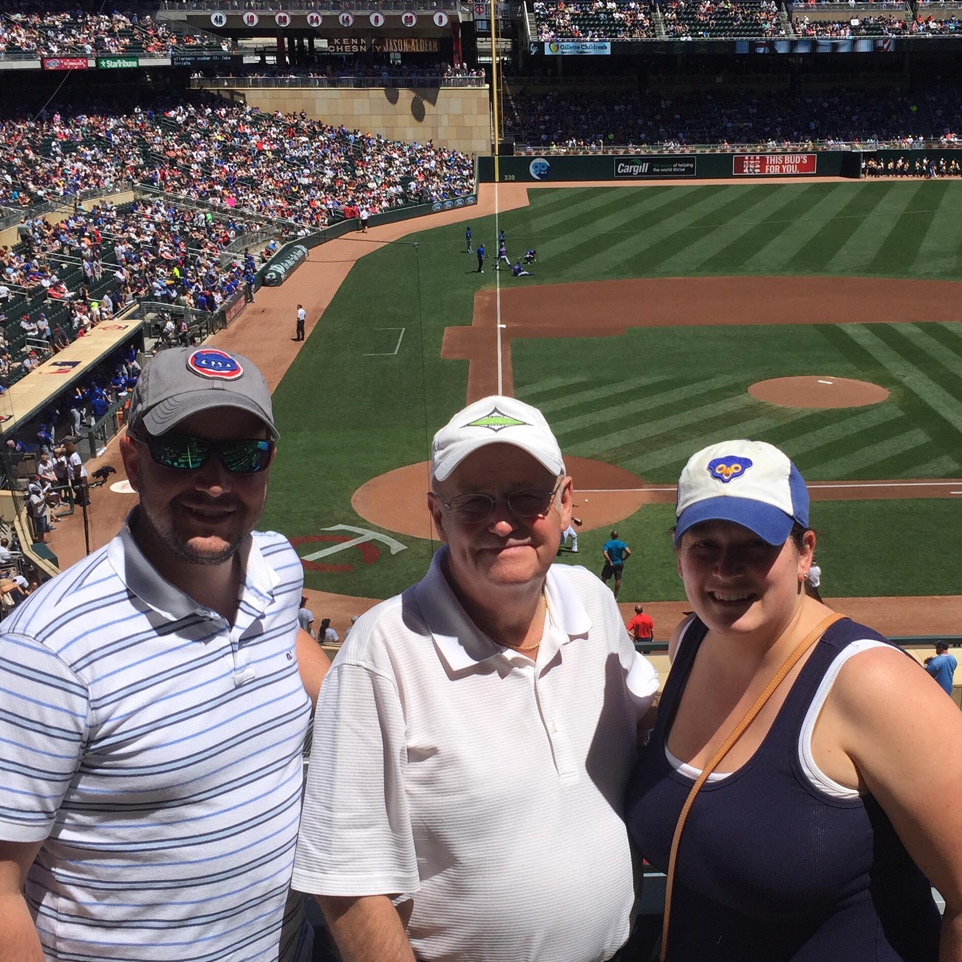 Twins vs. Cubs baseball rivalry