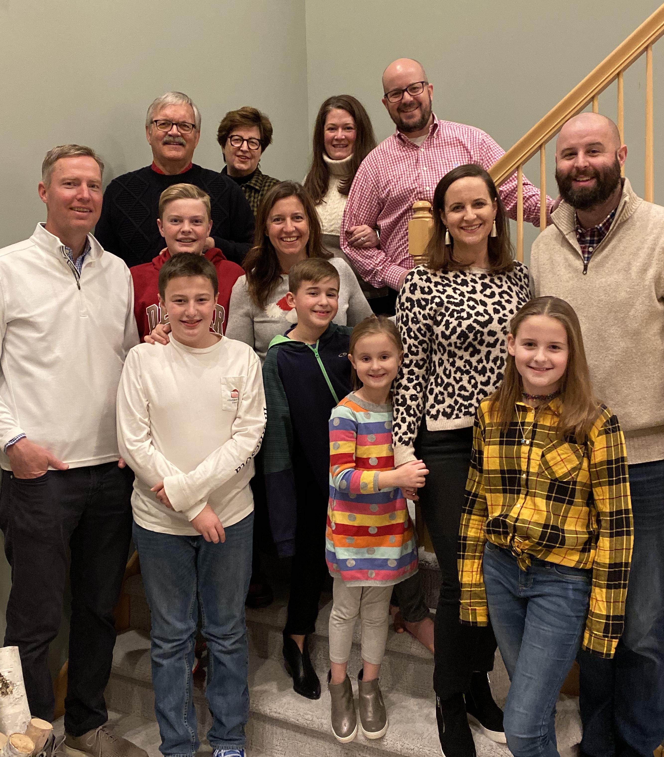 David's Family at Thanksgiving