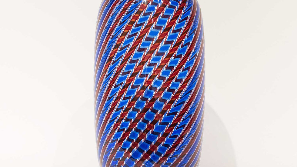 Striped Vase by Venini