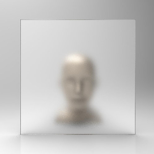 fino a 90 cm - Cristallo SATINATO Extrachiar