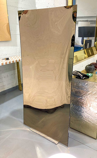 RECTANGLE MIRROR BRONZE