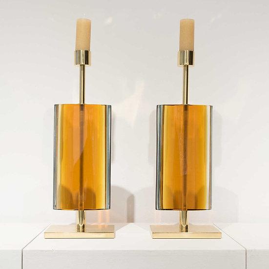 Candlesticks by Effetto Vetro