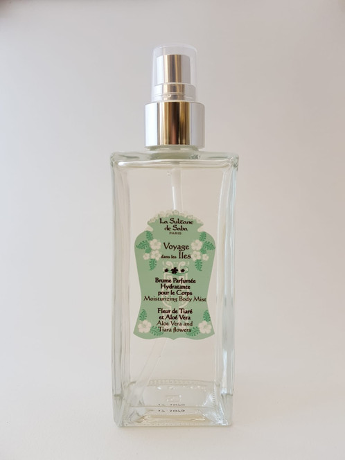 Brume Parfumée Hydratante pour le corps Parfum: Fleur de Tiaré et ...