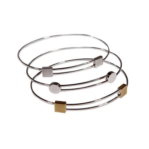 Bracelets S ronds et carrés