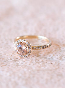 Bague diamants or jaune