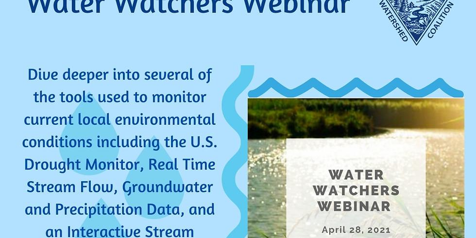 Water Watchers Webinar