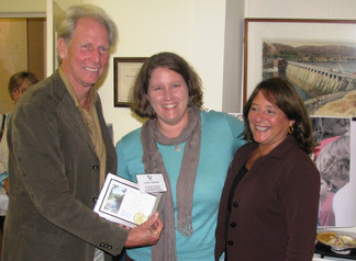 Haskins Recieves HVA Leadership Award