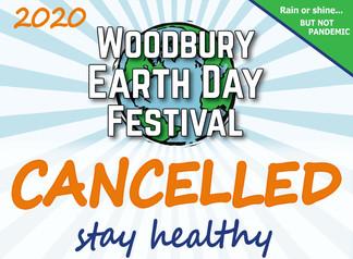 Woodbury Earth Day Festival Cancelled