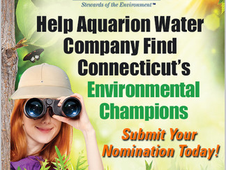 Aquarion Announces 2015 Awards for  Environmental Excellence