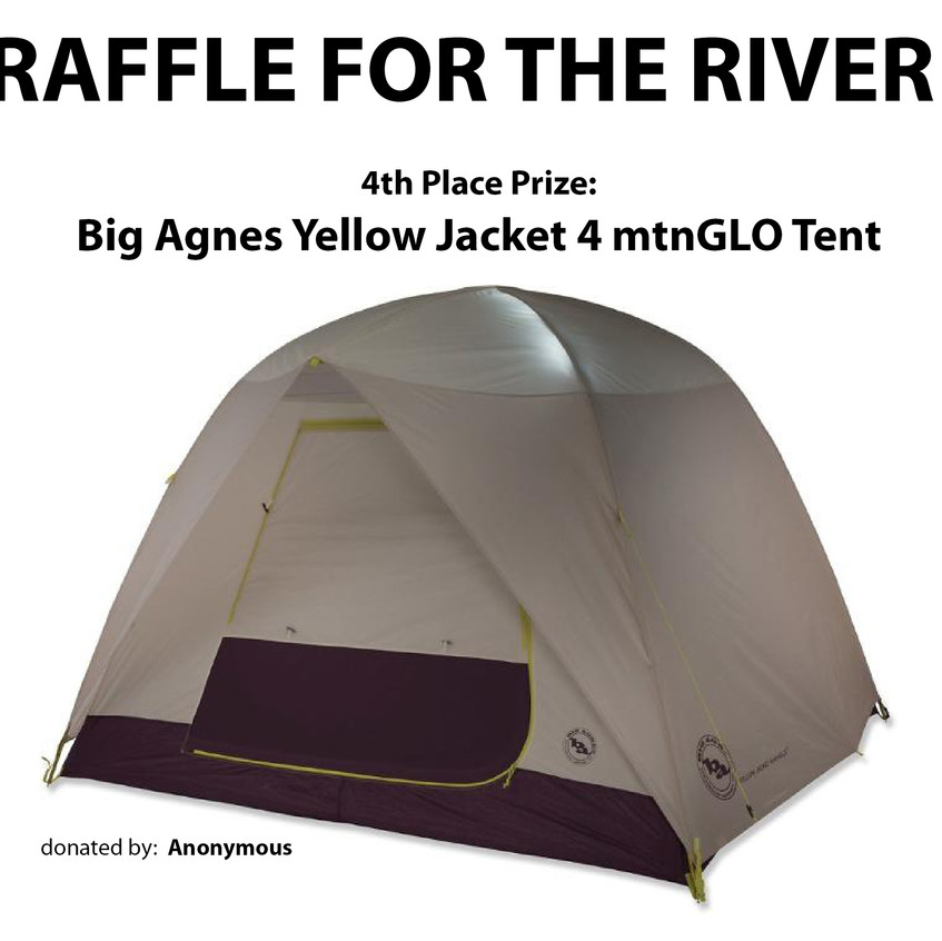 Big Agnes Yellow Jacket 4 mtnGLO Ten