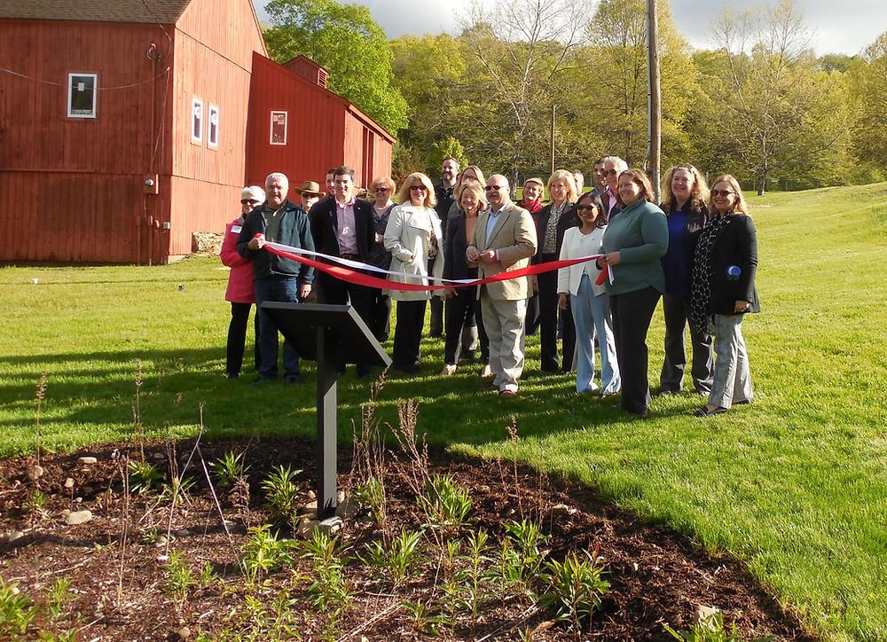 Community House Park Rain Garden Ribbon Cutting Ceremony