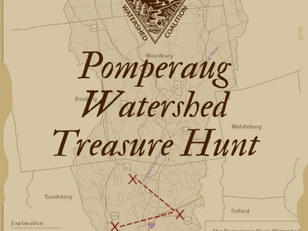 Pomperaug Watershed Treasure Hunt Team Challenge Announced