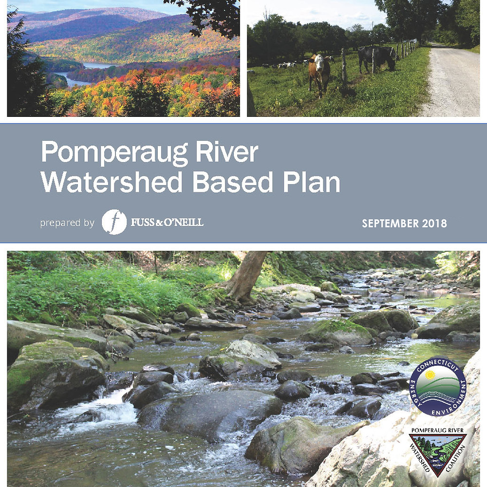 Final Pomperaug Watershed Based Plan Now Available Online
