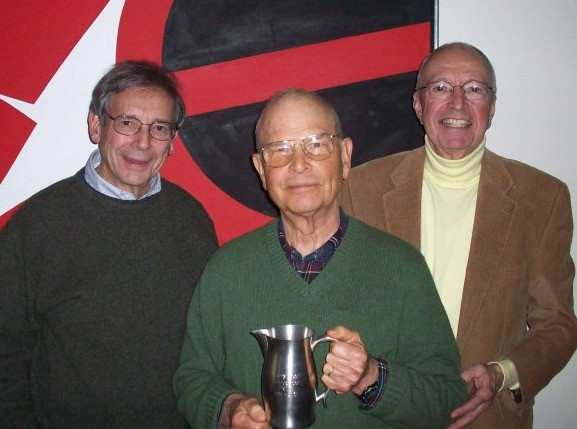 Dick Leavenworth alongside Marc Taylor and Larry Pond, fellow PRWC founders