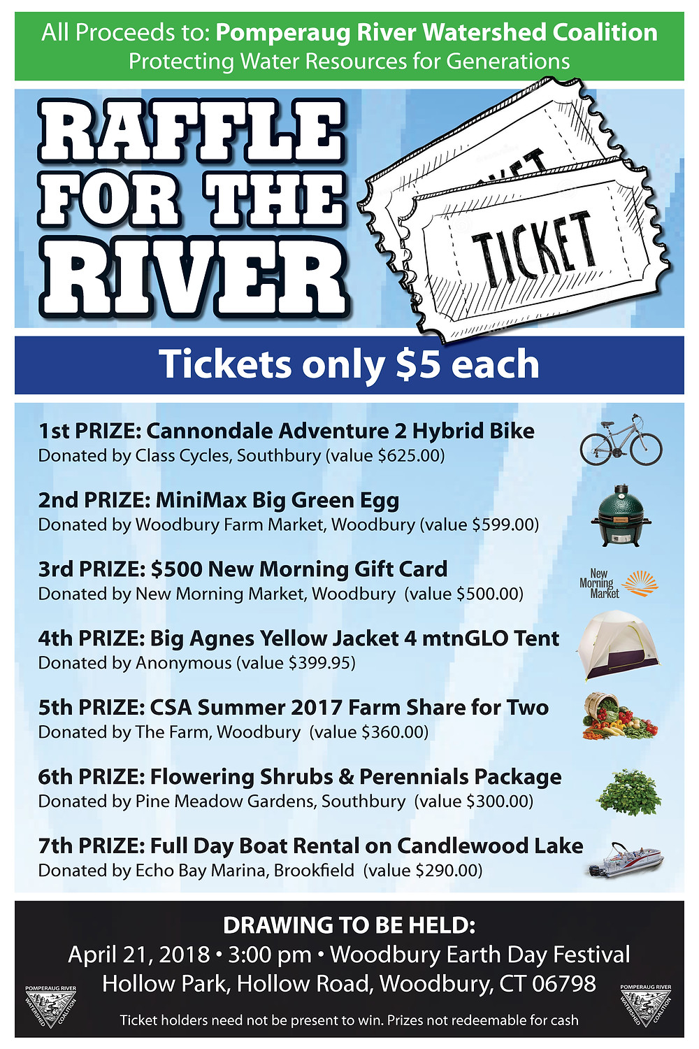 Raffle for the River