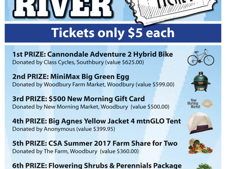 Earth Day Raffle for the River