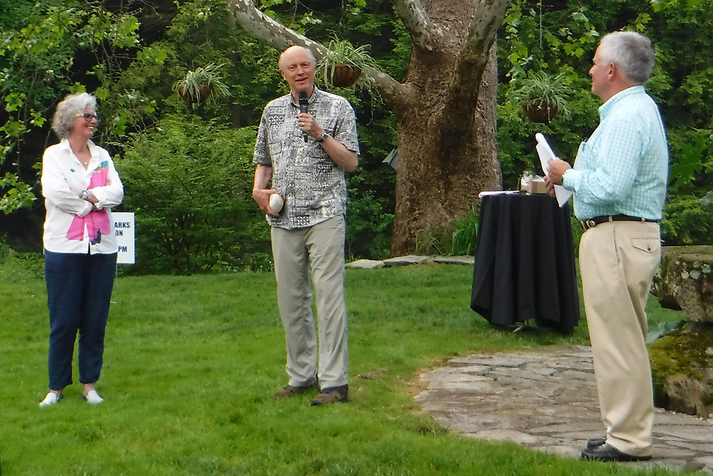Tom Crider honored