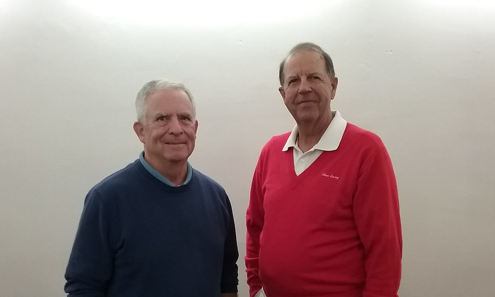 Outgoing PRWC Board Members, Vince McDermott (left) and John Lacadie (right)