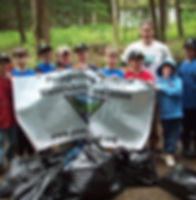 Boy Scout Merit Badge River Cleanup