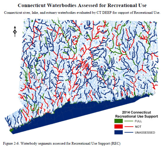 Image Source: CT DEEP's 2014 Intergrated Water Quality Report to Congress.