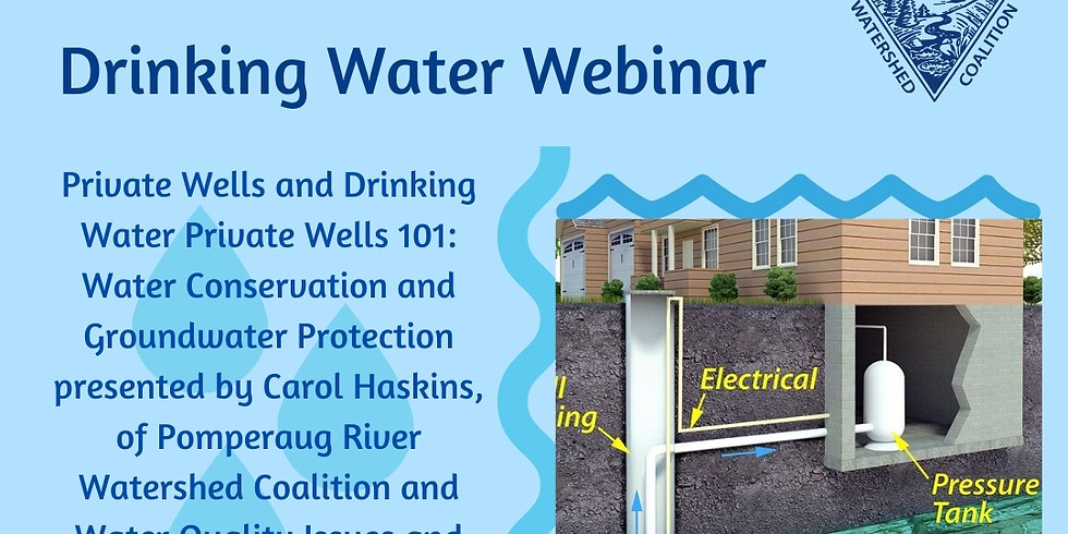 Private Wells and Drinking Water Webinar