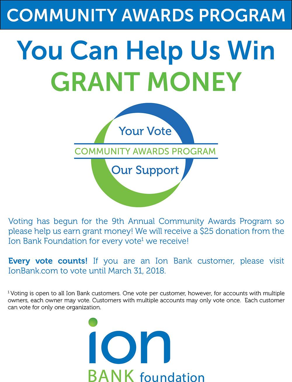 Community Awards Program