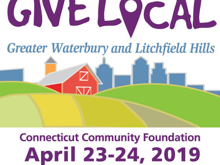 Matching Gift Challenge! Give Local Greater Waterbury and Litchfield Hills April 23-24