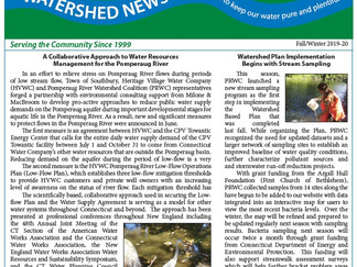 Watershed News Fall / Winter 2019-20 Read All About It!