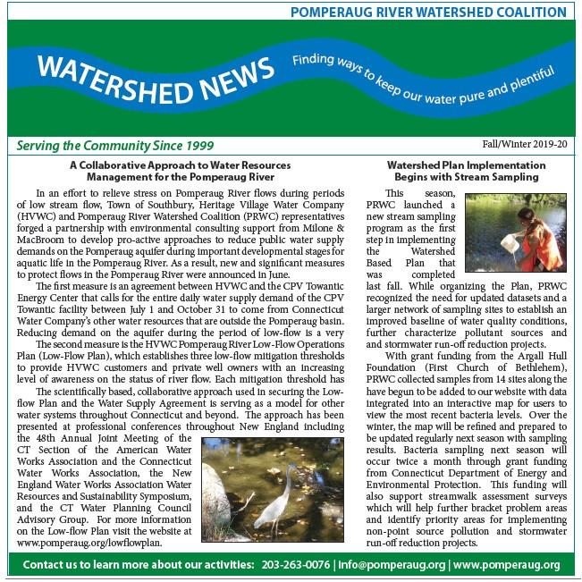 Watershed News Spring 2018