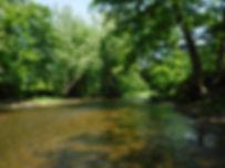 Pomperaug River at Audubon Bent of the R