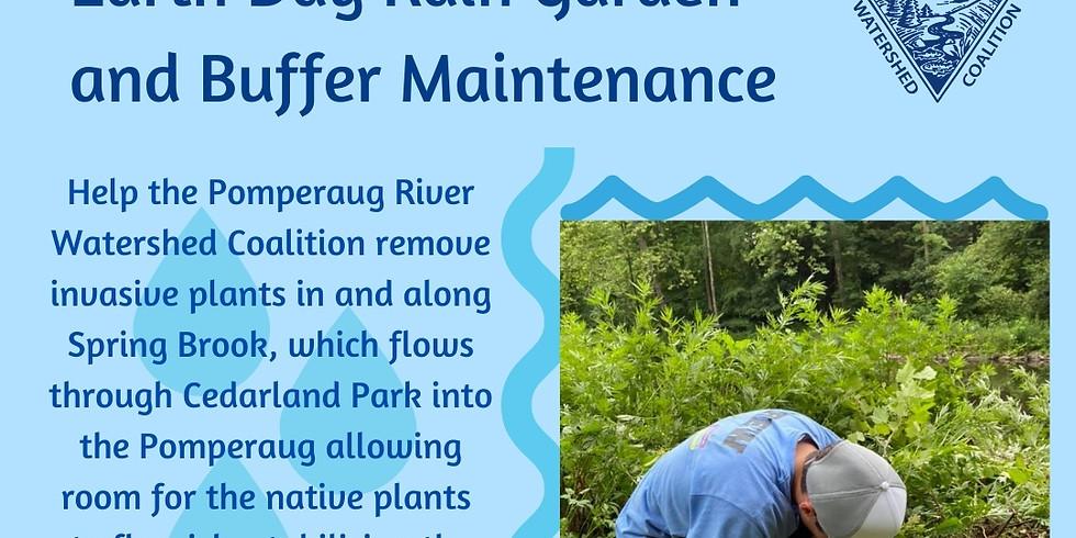 Earth Day Rain Garden and Buffer Maintenance