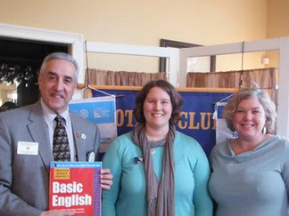 River Smart Program Presented at Tribury Rotary Lunch Program