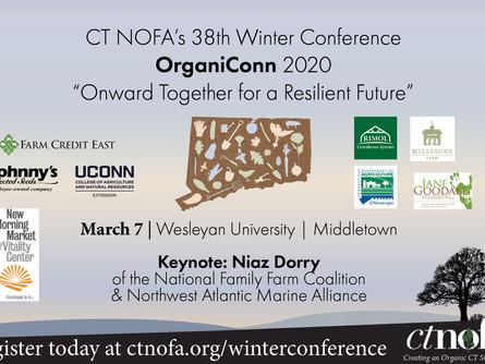 OrganiConn 2020  at Wesleyan University on March 7