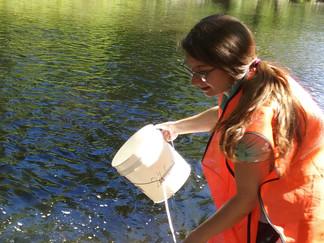 Watershed Plan Implementation Begins with Stream Sampling