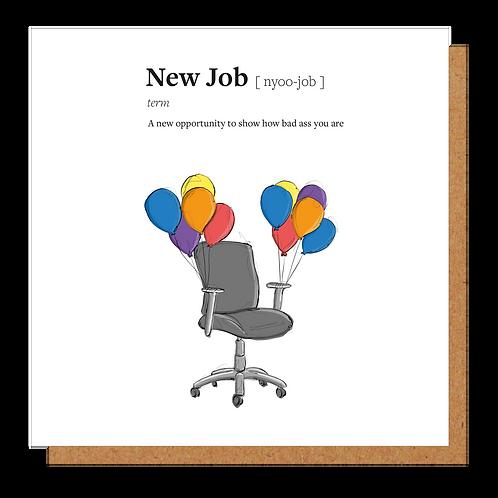 New Job Definition Card