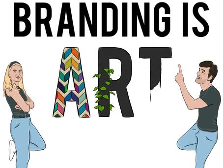 Branding is art