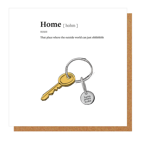 Home Definition Card