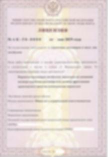Лицензия на перевозку пассажиров 2019