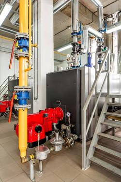 Boiler and Burner Unit