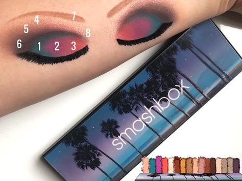 Swatching New Smashbox Eye Palette