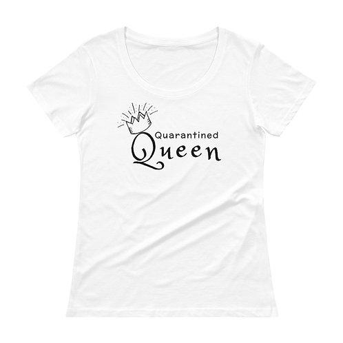Quarantined Queen Ladies' Scoopneck T-Shirt