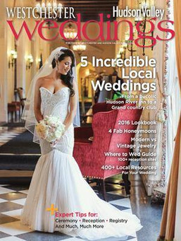 Magazine Cover & Real Wedding