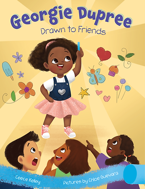 Georgie Dupree Drawn to Friends Cover 20